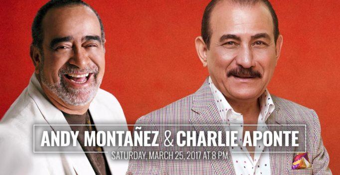 Charlie Aponte y Andy Montañez se presentarán en Nueva York