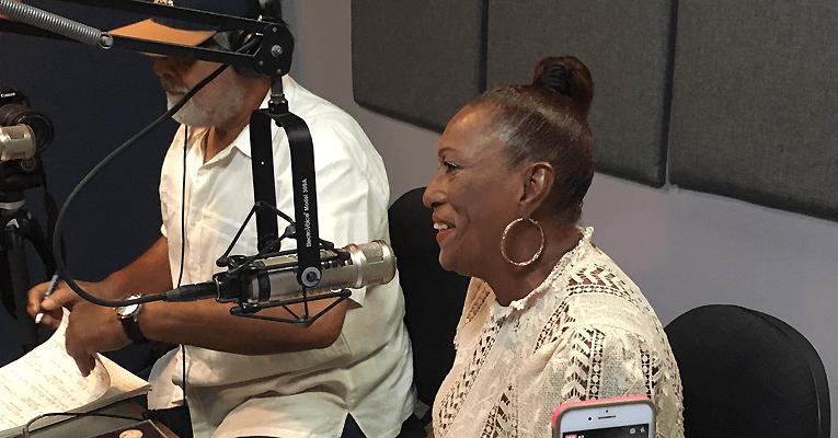 Yolanda Rivera feliz con su homenaje en el DNZ 2019