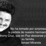 """Ismael Miranda: """"La salsa perdió una de las voces más lindas"""""""