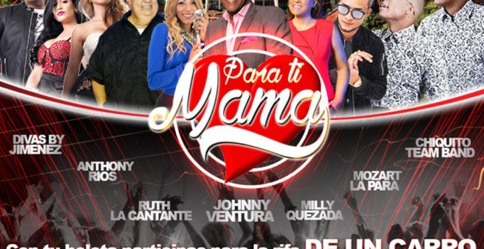 """Merengue, Salsa y Urbano en """"Para ti mamá"""""""