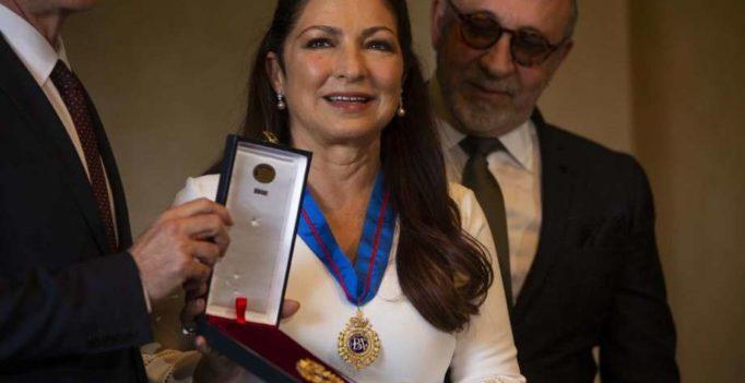 Gloria Estefan Premiada en España