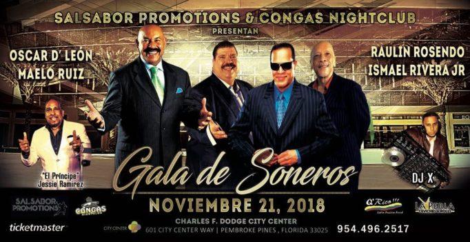"""Concierto """"Gala de Soneros"""" en la Florida"""
