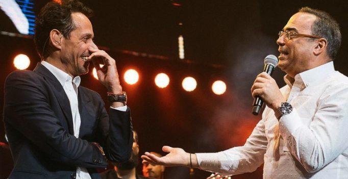 Marc Anthony confesó que Gilberto es su ídolo
