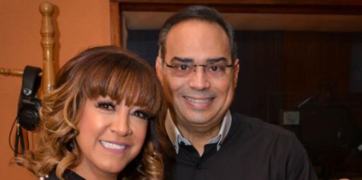 La rutina une a Milly Quezada y Gilberto Santa Rosa