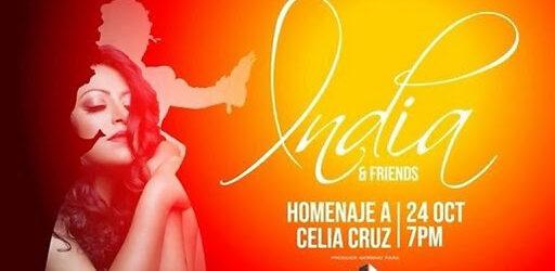 La India prepara concierto virtual en honor a Celia Cruz